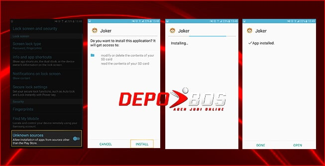 step download android joker118 kedua
